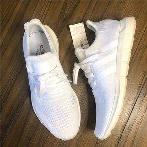 Adidas Swift Run White sneakers tennis shoes